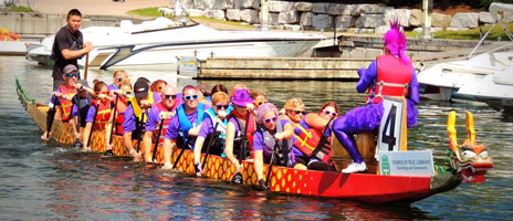 dragonboat-row